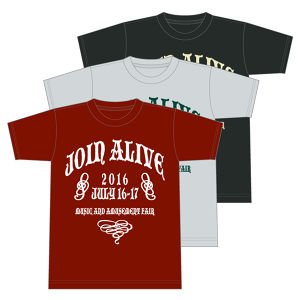 JOIN ALIVE 2016 TシャツF