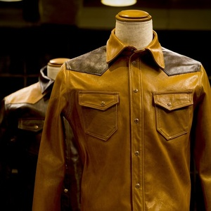 Bespoke Western Leather shirt