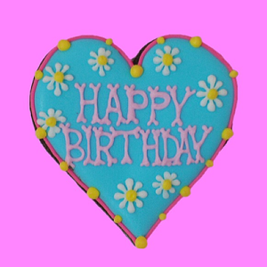 birthday cookie(flower)