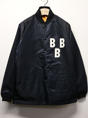 "SUNNY SPORTS / サニースポーツ | 【 Sale 20%off 】 "" NLBM COACHES JACKET "" BBB-BLACK"