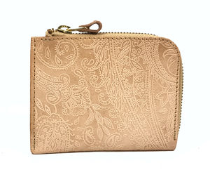 INC L-Fastener Short Wallet Paisley