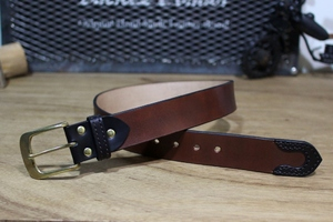 """Color Garrison Belt STD"" Brown"