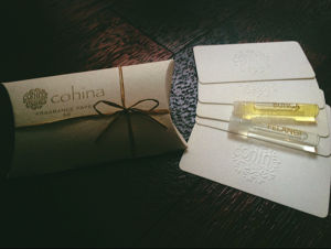 cohina fragrance paper