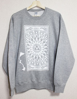【6SENSE】 Sweat -Triangle-(GRAY , BLACK)