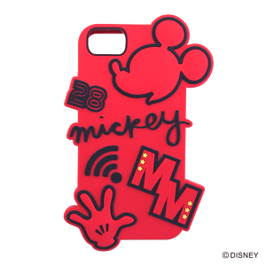 DISNEY/SILICONE iPhoneケース/YY-D003 RD