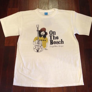 """Sunlight Believer / サンライト・ビリーバー   【SALE!!!】 """" On The Beach """" Tee - Natural"""