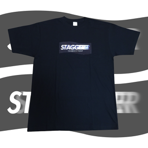 STAGGER T-Shirts (Black)