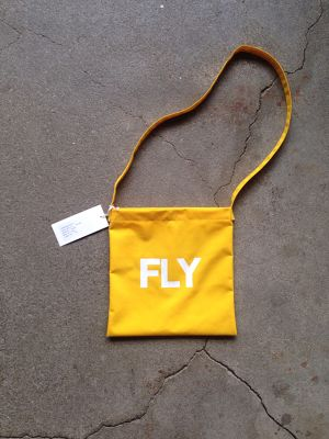VOIRY STORE / SCALE BAG-FLY イエロー