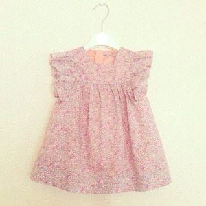 KIDS ORDER MADE DRESS -floral dress-