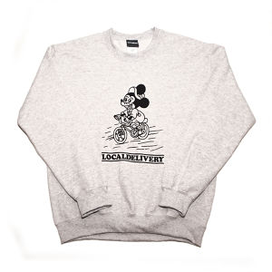 WWWTYO LOCALDELIVERY SWEAT (H・GREY)