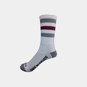 Cafe du Cycliste STRIPED CYCLING SOCKS - HIGH CUFF