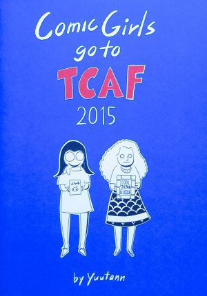 Comic Girls go to TCAF 2015
