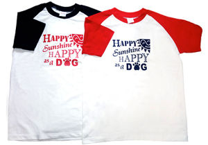 ☆Happy Raglan Owner T