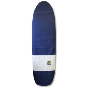 SurfBoard Case 7`4 With GREEN FUZ