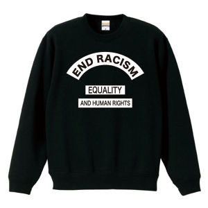 END RACISM : 2(SWEAT) ブラック