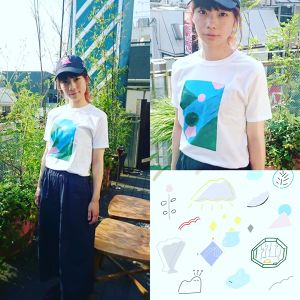 TWO FLAGS Tシャツ (M)