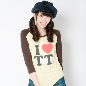 TT Raglan T-shirts(Brown × Yellow)