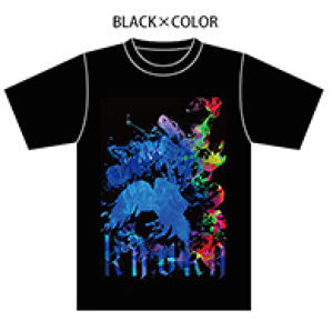 OFFICIAL T-shirts【BLACK×COLOR】