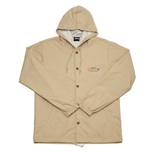 WWWTYO CITY HOODED COACH JKT (CREAM)