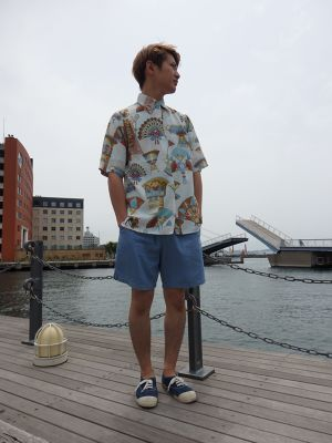 "French S/S ""Egypt"" pattern Shirt"