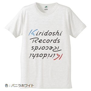 「KIRIDOSHI RECORDS」 ロゴT-Shirts