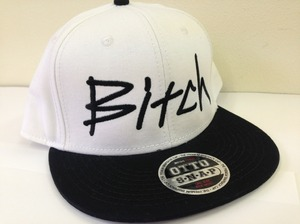 Bitch Cap - Snapback White&Black