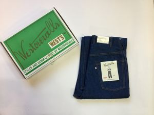 "WESTOVERALLS""803W WIDE DENIM PANTS ONEWASH"""