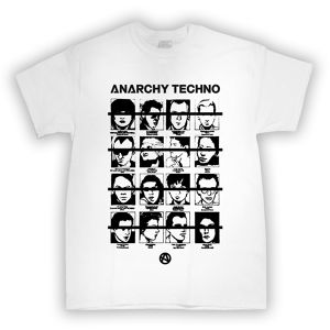 【受注生産】ANARCHY TECHNO / T-SHIRT - 002