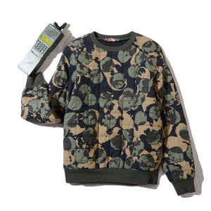 MSGM   camouflage&dot printed    quilting cotton tops