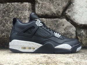 "NIKE AIR JORDAN 4 RETRO LS ""OREO"" 314254-003"