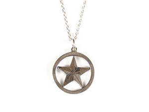 STANDARD CALIFORNIA SD スタカリ スタンダードカリフォルニア MADE IN USA STAR NECKLACE ネックレス  SILVER シルバー