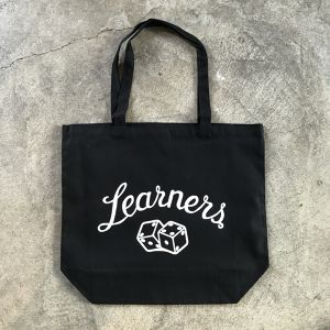 LEARNERS DICE TOTE BAG (BLACK)