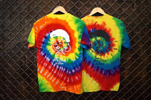OLDEN GIRL RAINBOW TYE DYE TEE