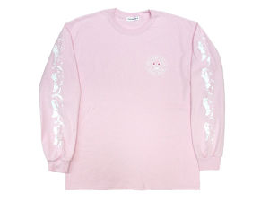 """DELIHELL"" L/S Tee  PINK"