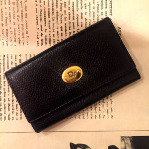 Christian Dior leather key case