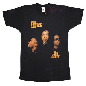 """Fugees / The Source"" Vintage Rap Tee Used"