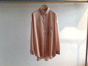"WHOWHAT""WIDE SHIRT LIGHT PINK"""