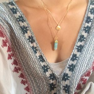 14kgf Amazonite necklace
