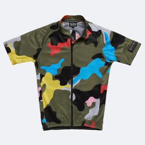 Search And State サイクルジャージ(Camo A-Prime)