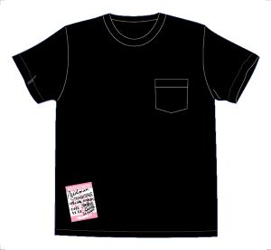 "QT-002 ""QUARTET""BACK PRINT POCKET-TEE"