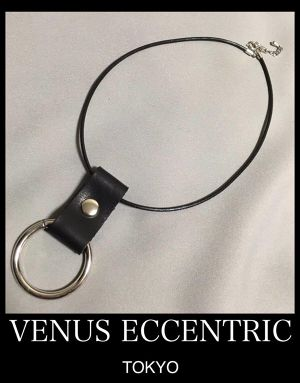 【NEW】VENUS ECCENTRIC RING CHOKER