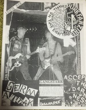 NO THANKS fans zine, issue six