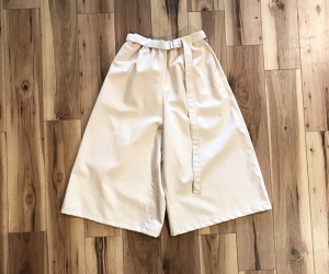 EASY WIDE SHORTS(NATURAL)