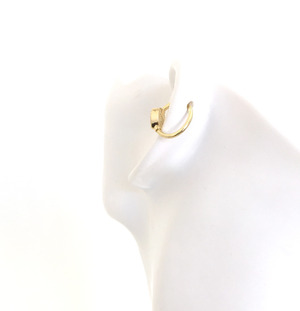 K18YG body jewelry HEART GOLD CHARM