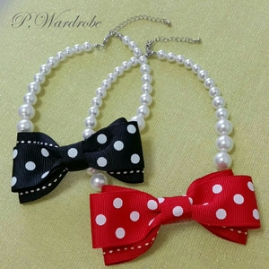 Pearl Necklace -Pois-