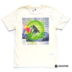 "LADE Clothing / Organic T-Shirt ""Mountain03"""