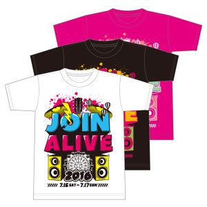 JOIN ALIVE 2016 TシャツD