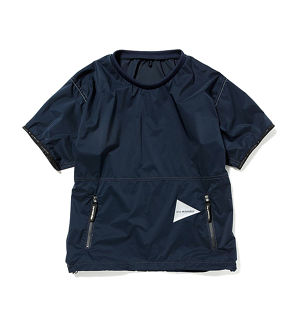 【and wander】PERTEX wind T