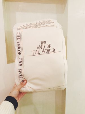 "moko - ""The End Of The World Pillow"""