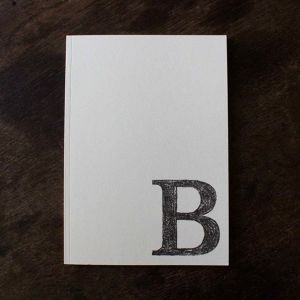 ABC notebook / B
